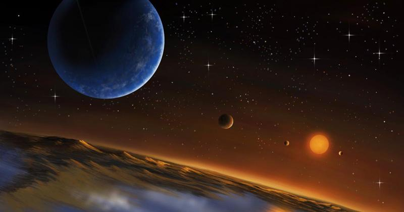 New planet found outside solar system, signs of life found