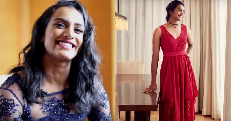 Indias Olympic star PV Sindhu looks absolutely stunning