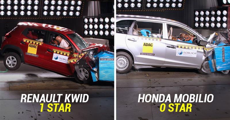 Global Ncap Crash Tests Indian Cars Shows The Poor Safety Standards