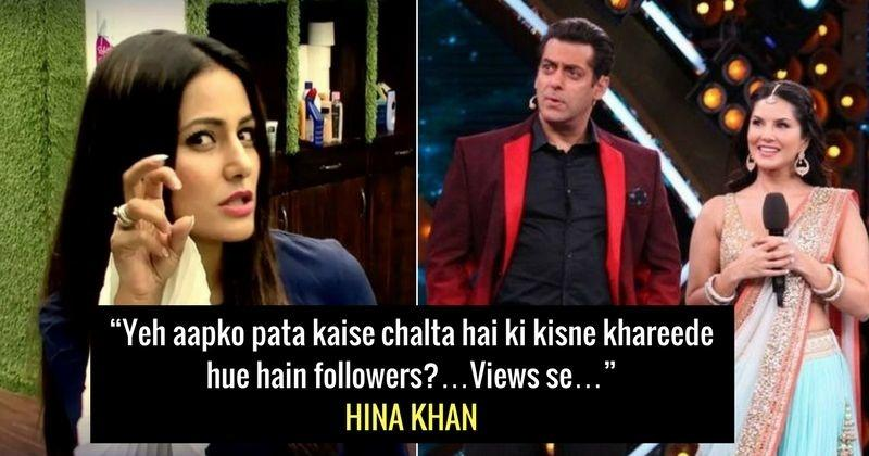 Hina Khan Is No Mood To Spare Anyone Comments On Salman Sunny S