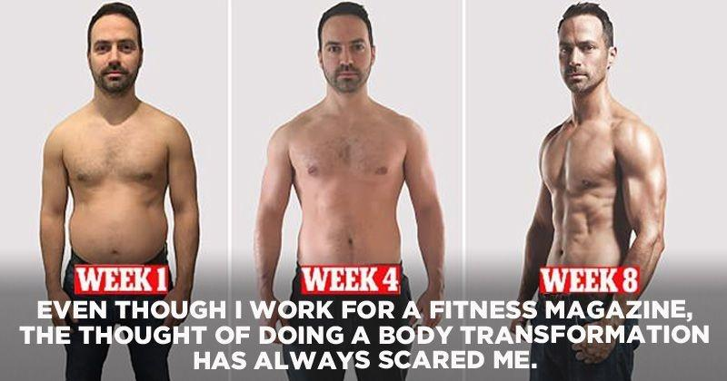 This 37-YO Out-Of-Shape Father Built A Cover Model Ready Body In Eight  Weeks Without A Personal Trainer