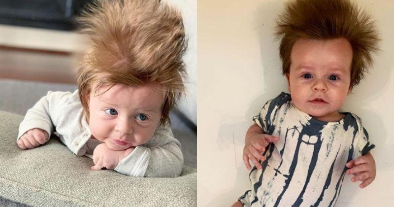 This 4-Month-Old Baby's Hair Is Making Heads Turn All Over ...