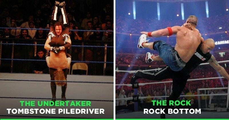 Epic Wwe Finishing Moves — Tehno