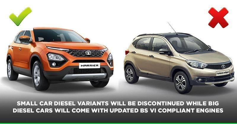 Diesel car production stop:Tata Motors To Stop Small Diesel