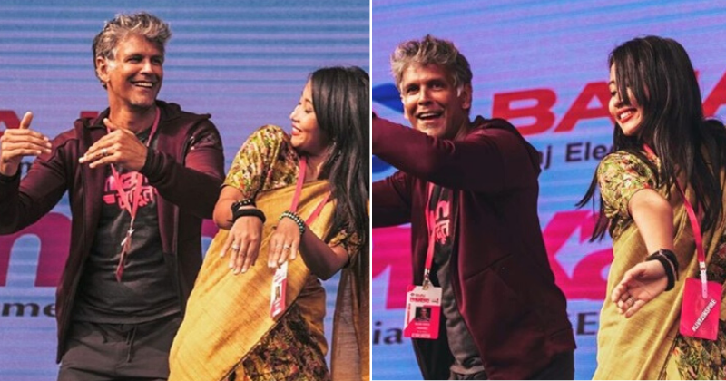 Milind Soman Learns Bihu Dance For Wife Ankita Konwar & Fans Are In Love With The