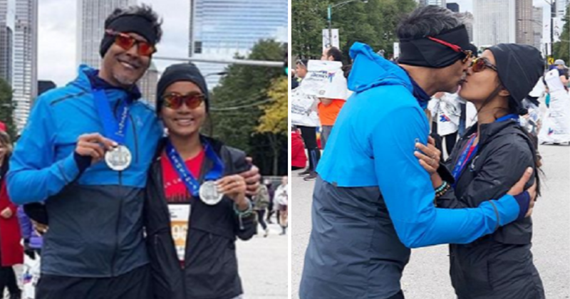 Milind Soman Cheers For 'Superwife' Ankita Konwar As She Runs Her 1st World Major Marathon