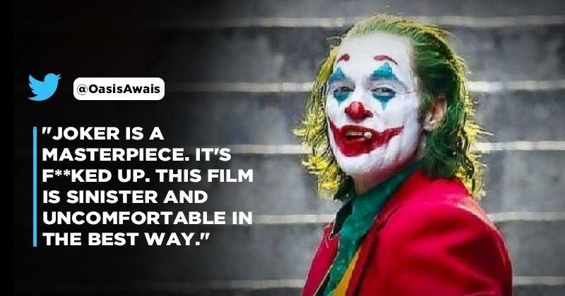 Joker Review The First Joker Reviews Are In And People Are