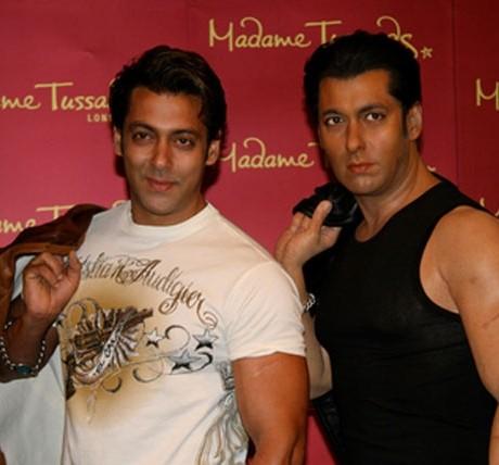 Salman's wax statue