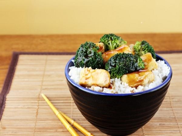 Healthy Foodie: Tofu Rice Mix Recipe