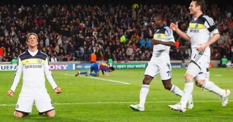 Chelsea dump out Barca to reach final