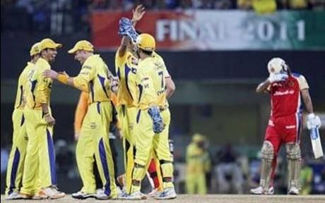 Chennai beat Bangalore by five wickets
