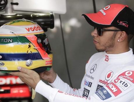 McLaren ace Hamilton says he doesn't feel like walking away