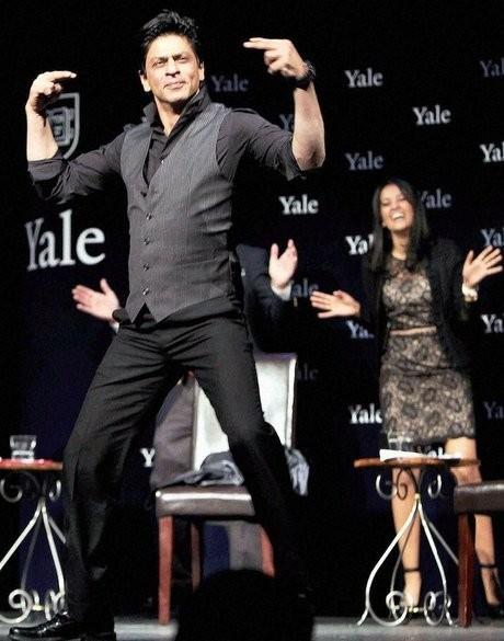 Shah Rukh Khan at Yale University