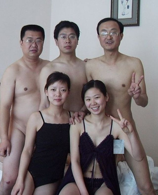 Chinese officials' sexual orgy