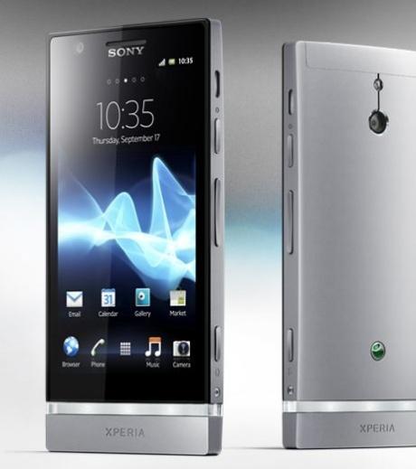 Sony Xperia P smartphone