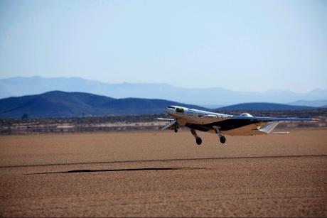 Triangular 'passenger plane of future' unveiled by NASA