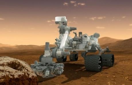 Curiosity spots mysterious 'UFO' zooming across Mars' horizon