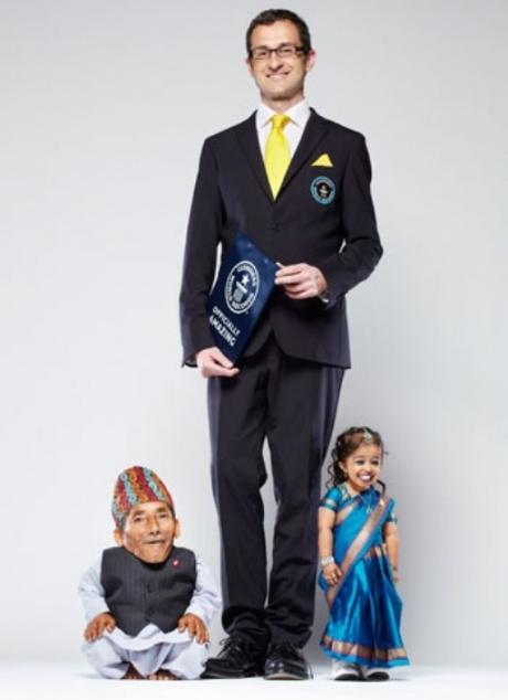 World's shortest adults
