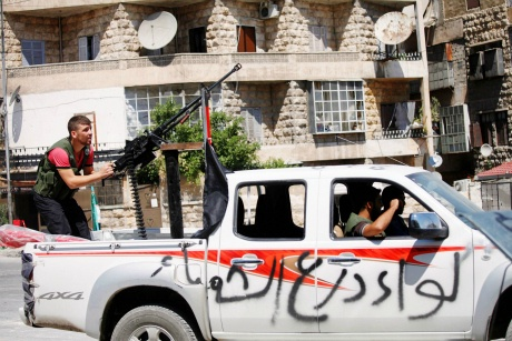 Deadly fighting grips Syria