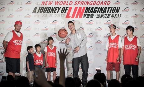 Fans mob birthday-boy Lin in Hong Kong