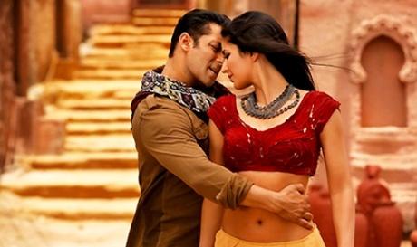 Salman-Katrina in a still from Ek Tha Tiger