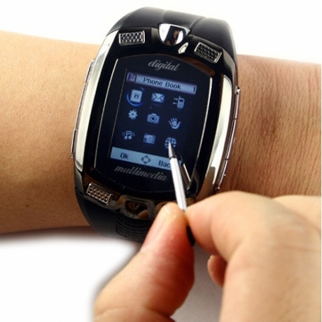 cell on wrist