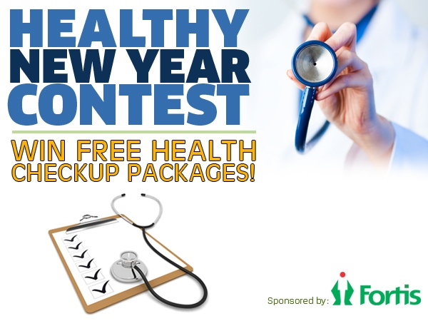 Presenting The Healthy New Year Contest!