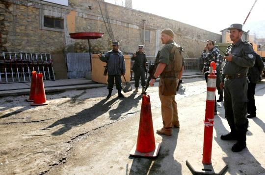 Afghan Policewoman Kills US Adviser
