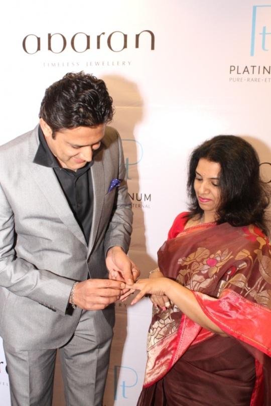 Anil and Chetana Kumble Celebrate their Platinum Day of Love at Abaran