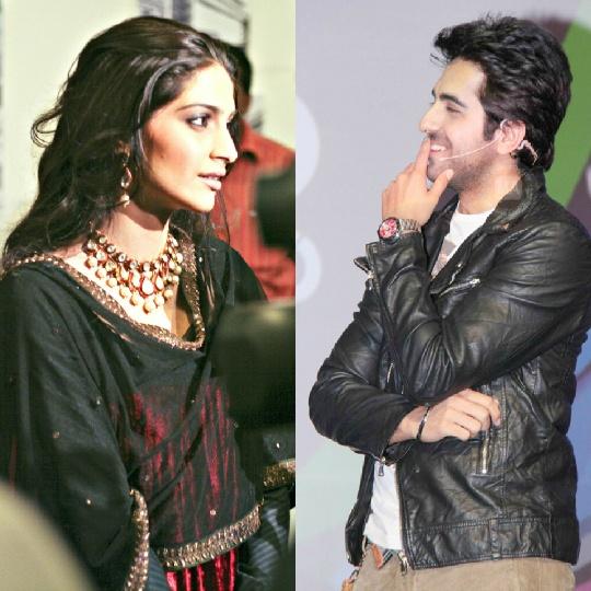 Sonam Kapoor and Ayushmann Khurrana