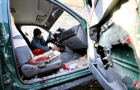 Bomb Kills Afghan Police Chief