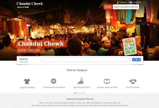 Chandni Chowk Market Online