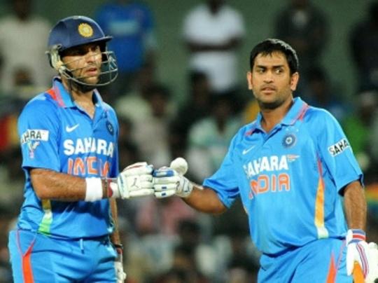 Dhoni and Yuvraj