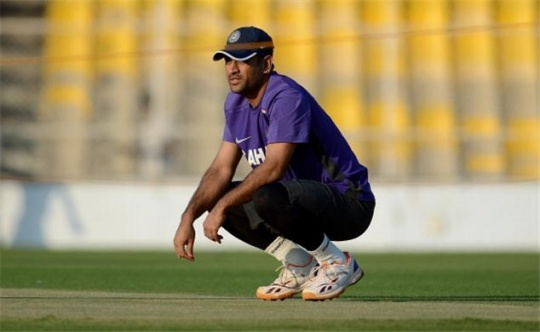 Dhoni, Curator Avoid Each Other