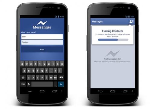 Facebook Opens Messenger to Non-Facebook Users