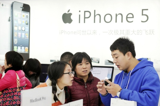 iPhone 5's China Debut Breaks Sales Record