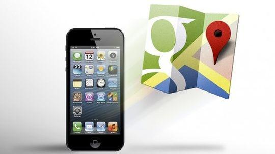 Google Maps Back to Apple iOS