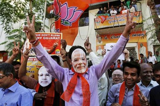 Modi Wins Gujarat