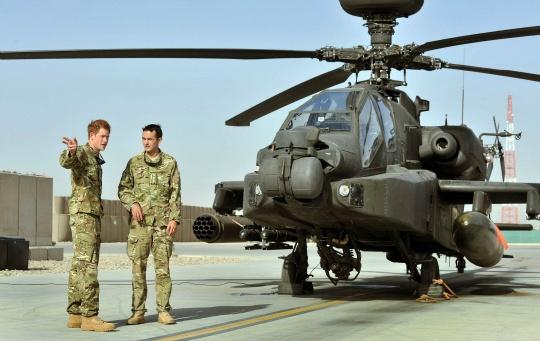 Prince Harry Kills Taliban Commander in Afghanistan