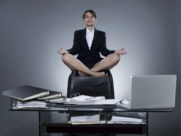 Smart Yoga For Office Cubicles