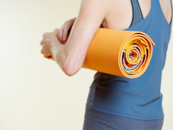 Workout Review: Rolled Yoga Mat Workout