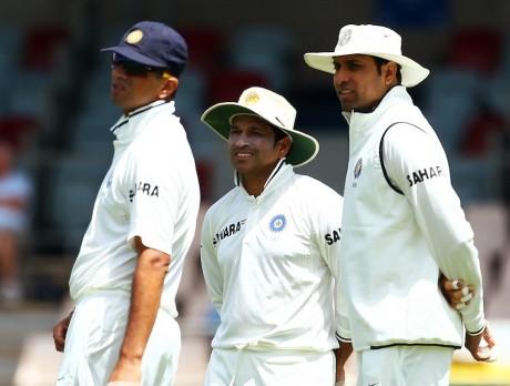 Tendulkar, Dravid and VVS