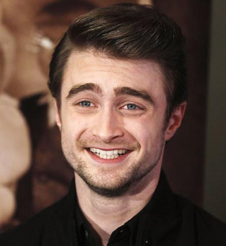 Radcliffe comfortable with nudity