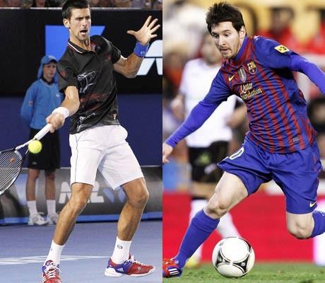 Djokovic, Messi favourites at Laureus awards