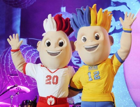 EURO 2012 Trophy unveiled in India