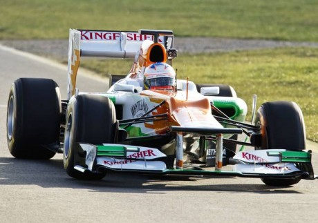 Di Resta eighth fastest after 'intense' day of testing