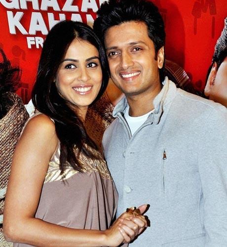 Bollywood galore at Riteish-Genelia sangeet