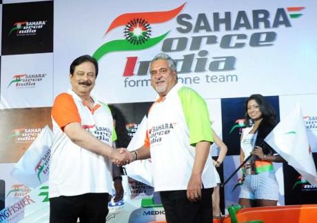 Aethra joins Sahara Force India