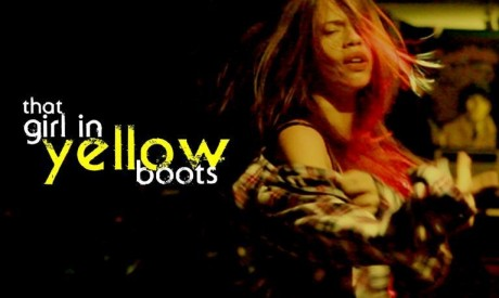 The Girl In Yellow Boots