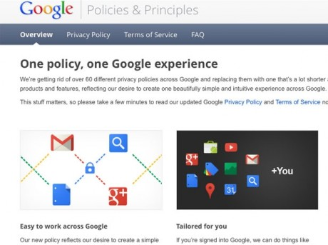 Google's new world and your privacy